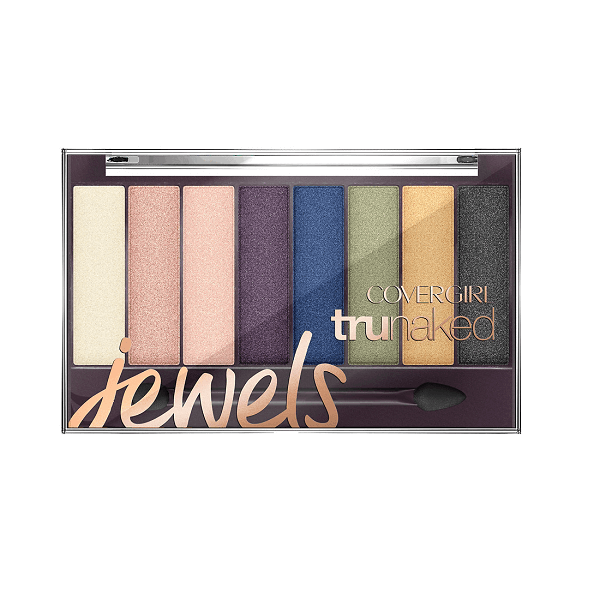 bang phan mat 8 mau covergirl trunaked eyeshadow jewels 6 5g 600x600 - Bảng phấn mắt 8 màu Covergirl Trunaked Eyeshadow Jewels 6.5g