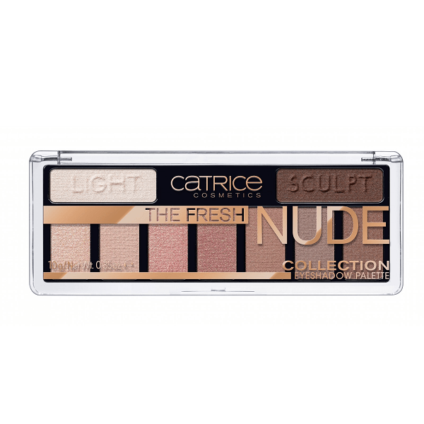 bang phan mat 9 o catrice the fresh nude collection eyeshadow palette 600x600 - Bảng phấn mắt 9 ô Catrice The Fresh Nude Collection Eyeshadow Palette