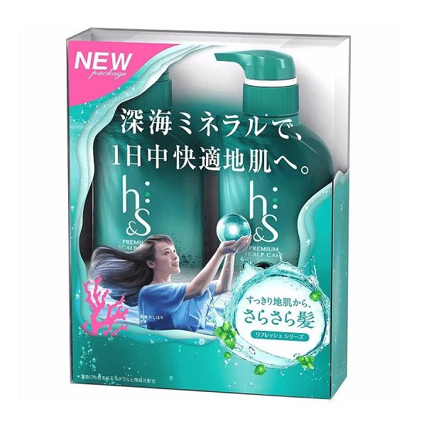 bo dau goi xa hs refresh series premium scalp care nhat ban 370ml 600x600 - Bộ dầu gội xả HS Refresh Series Premium Scalp Care Nhật Bản 370ml