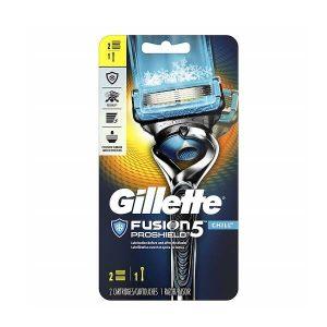 Dao cạo râu 5 lưỡi Gillette Fusion 5 ProShield - 1 cán 2 lưỡi