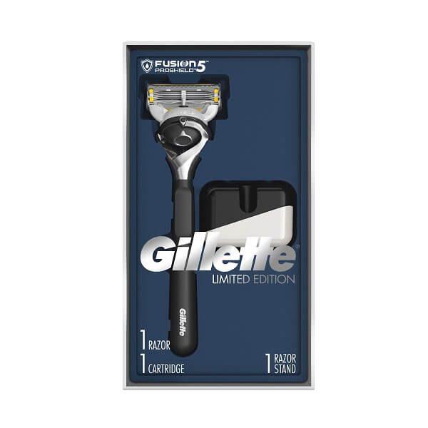 Dao cạo râu 5 lưỡi Gillette Fusion 5 ProShield Limited Edition - 1 cán 1 lưỡi