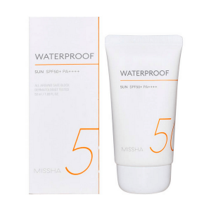 kem chong nang chong nuoc missha all around safe block waterproof sun spf 50 pa 50ml 300x300 - Kem chống nắng chống nước Missha All Around Safe Block Waterproof Sun SPF 50 PA++++ 50ml