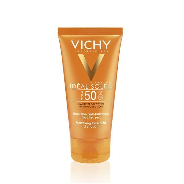 kem chong nang da dau vichy ideal soleil spf 50 pa 50ml 600x600 - Kem chống nắng da dầu Vichy Ideal Soleil SPF 50+ PA+++ 50ml