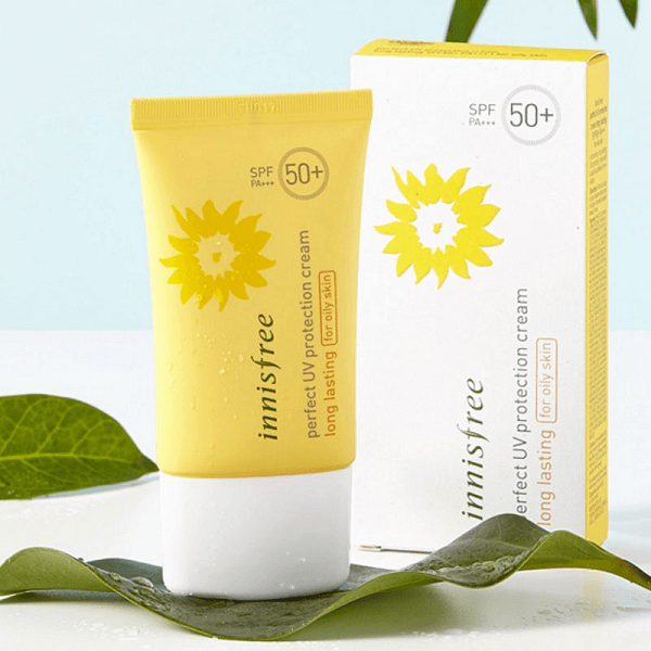 kem chong nang innisfree perfect uv protection cream long lasting for oily skin spf 50 pa 2 600x600 - Kem chống nắng Innisfree Perfect UV Protection Cream Long Lasting For Oily Skin SPF 50 PA+++