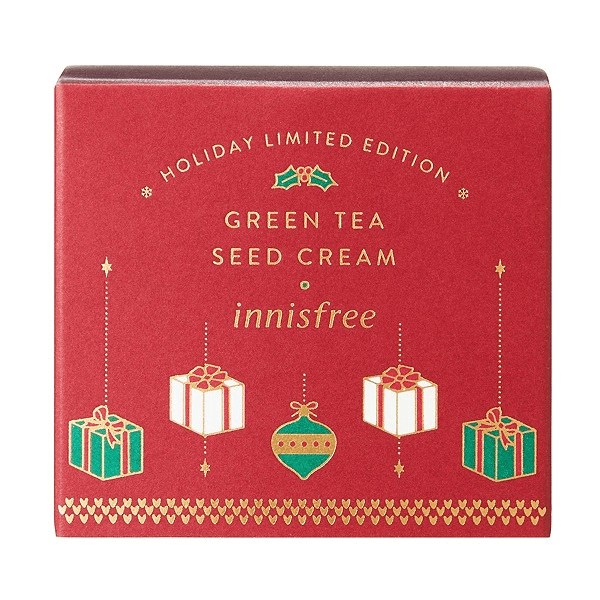 kem duong cap am hat tra xanh innisfree green tea seed cream 100ml holiday limited 2018 3 600x600 - Kem dưỡng cấp ẩm hạt trà xanh Innisfree Green Tea Seed Cream 100ml ( Holiday Limited Edition 2018 )