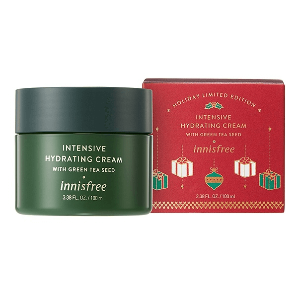 kem duong cap am hat tra xanh innisfree green tea seed cream 100ml holiday limited 2018 600x600 - Kem dưỡng cấp ẩm hạt trà xanh Innisfree Green Tea Seed Cream 100ml ( Holiday Limited Edition 2018 )