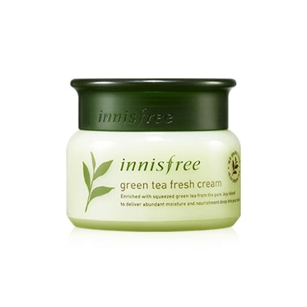 kem duong da tra xanh innisfree green tea fresh cream 50ml 600x600 - Kem dưỡng da trà xanh Innisfree Green Tea Fresh Cream 50ml