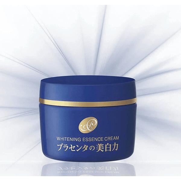 kem duong trang da meishoku whitening essence cream placenta 55g 600x600 - Kem dưỡng trắng da Meishoku Whitening Essence Cream Placenta 55g