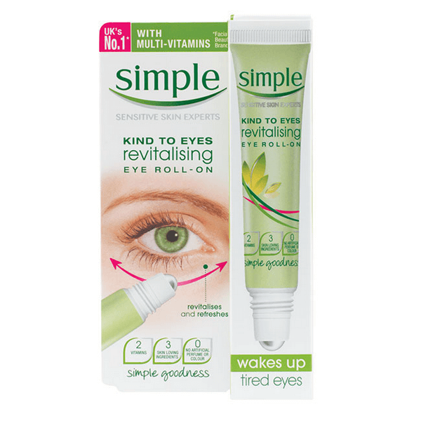 lan duong mat simple kind to eyes revitalising eye roll on 15ml 600x600 - Lăn dưỡng mắt Simple Kind To Eyes Revitalising Eye Roll-On 15ml
