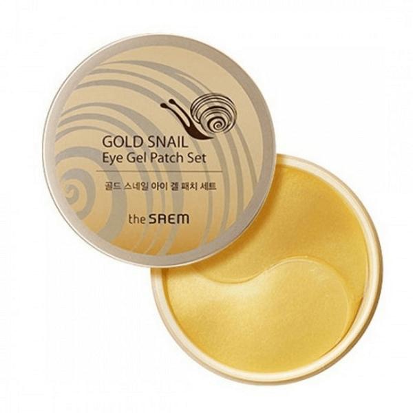 mat na mat chiet xuat oc sen the saem gold snail eye gel patch set 60 mieng 600x600 - Mặt nạ mắt chiết xuất ốc sên The Saem Gold Snail Eye Gel Patch Set 60 miếng