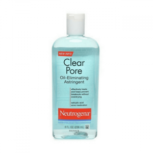 nuoc hoa hong danh cho da dau mun neutrogena clear pore oil eliminating astringent 236ml 300x300 - Nước hoa hồng da dầu mụn Neutrogena Clear Pore Oil Eliminating Astringent Toner 236ml