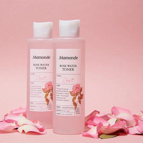 nuoc hoa hong khong con mamonde rose water toner 250ml 2 600x600 - Nước hoa hồng Mamonde Rose Water Toner 250ml