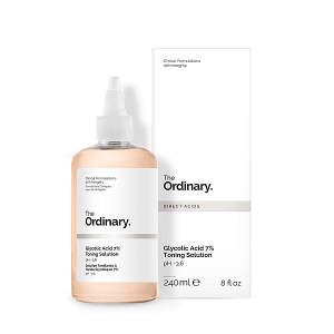 nuoc hoa hong tay da chet the ordinary glycolic acid 7 toning solution ph3 6 240ml 300x300 - Nước hoa hồng tẩy da chết The Ordinary Glycolic Acid 7% Toning Solution PH~3.6 240ml