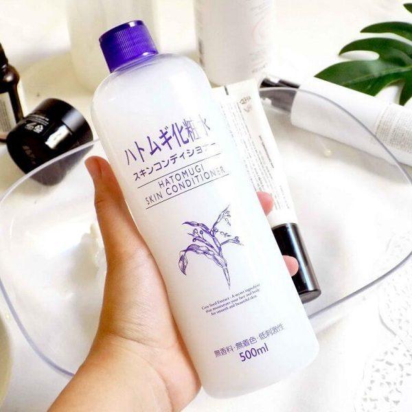nuoc hoa hong y di naturie skin conditioner nhat ban 3 600x600 - Nước hoa hồng ý dĩ Naturie Skin Conditioner Nhật Bản 500ml