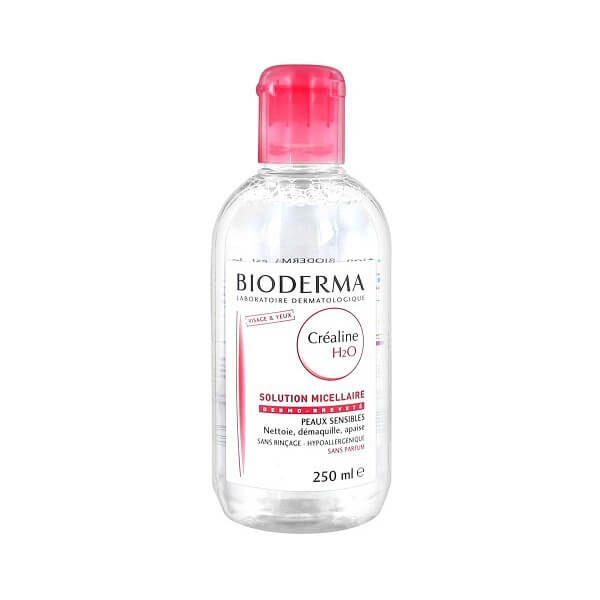 nuoc tay trang cho da nhay cam bioderma crealine h2o 250ml noi dia phap 600x600 - Nước tẩy trang Bioderma Créaline H2O 250ml ( nội địa Pháp )