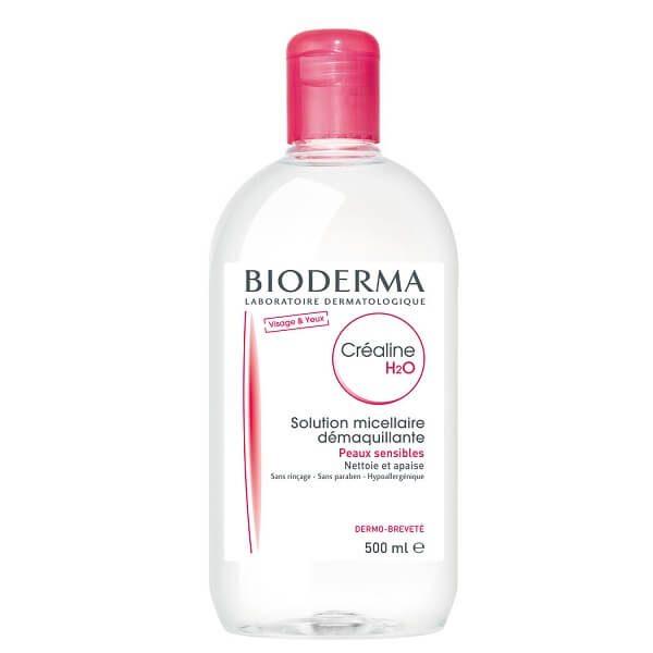 nuoc tay trang cho da nhay cam bioderma crealine h2o 500ml noi dia phap 600x600 - Nước tẩy trang Bioderma Créaline H2O 500ml ( nội địa Pháp )