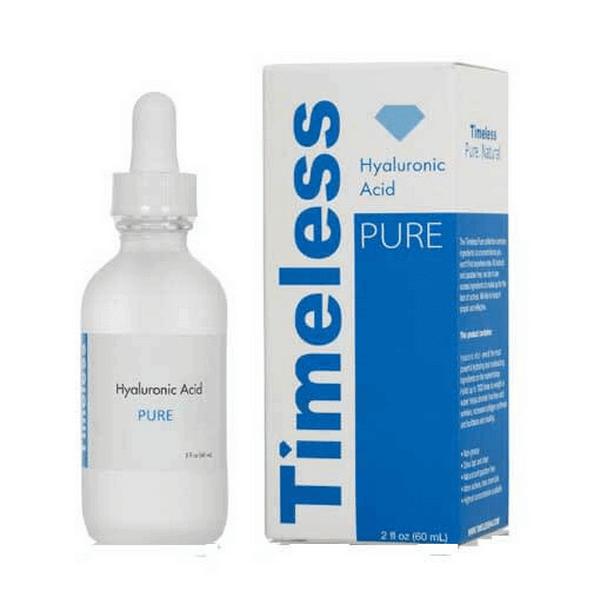serum cap nuoc duong am timeless hyaluronic acid pure 60ml 600x600 - Serum cấp nước dưỡng ẩm Timeless Hyaluronic Acid Pure 60ml