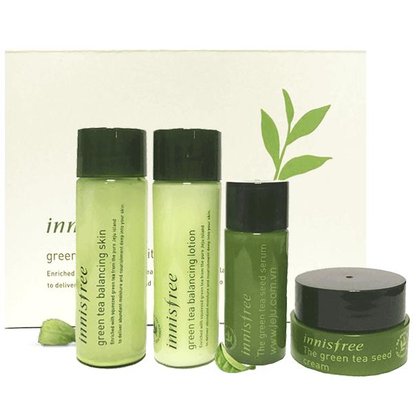 set duong da tra xanh innisfree green tea special kit 75ml 600x600 - Set dưỡng da trà xanh Innisfree Green Tea Special Kit 75ml