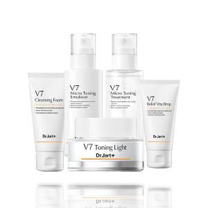 set duong da v7 micro toning skin care set 5 mon 300x300 - Set dưỡng da V7 Micro Toning Skin Care Set 5 món