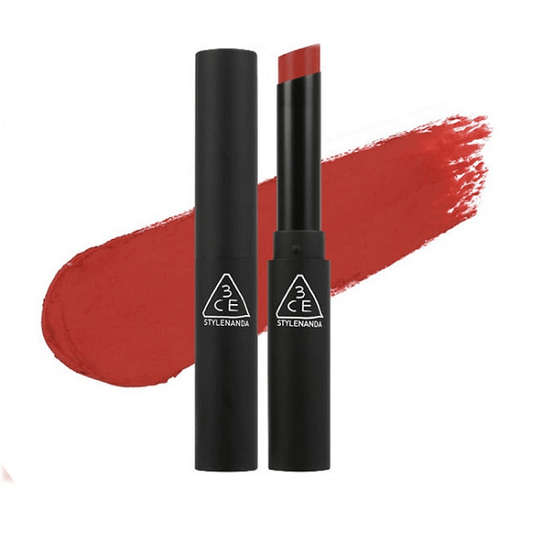 son 3ce slim velvet lip color fluffy red do dat 600x600 - Son 3CE Slim Velvet Lip Color Fluffy Red ( Đỏ Đất )