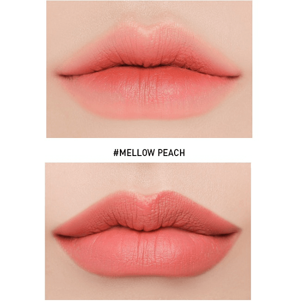 son 3ce slim velvet lip color mellow peach cam dao 2 600x600 - Son 3CE Slim Velvet Lip Color Mellow Peach ( Cam Đào )