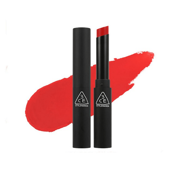 son 3ce slim velvet lip color pale red do tuoi 600x600 - Son 3CE Slim Velvet Lip Color Pale Red ( Đỏ Cam Pha Hồng )