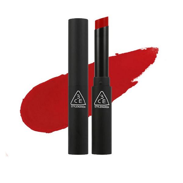 son 3ce slim velvet lip color true red do thuan 600x600 - Son 3CE Slim Velvet Lip Color True Red ( Đỏ Thuần )