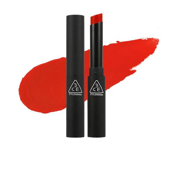 son 3ce slim velvet lip color vermilion do cam 600x600 - Son 3CE Slim Velvet Lip Color Vermilion ( Đỏ Cam )