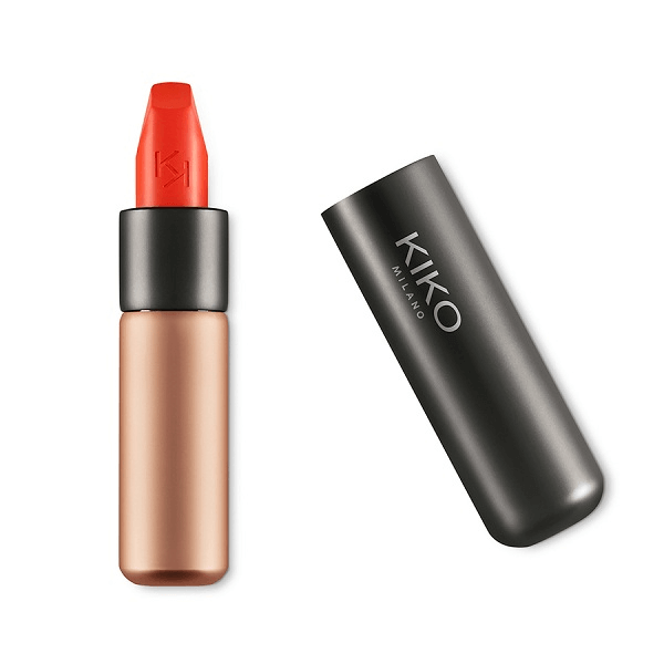 son kiko velvet passion matte lipstick 309 tulip red 600x600 - Son Kiko Velvet Passion Matte Lipstick màu 309 Tulip Red ( Đỏ Cam )