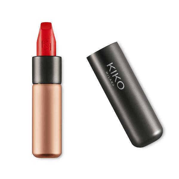 son kiko velvet passion matte lipstick 311 poppy red 600x600 - Son Kiko Velvet Passion Matte Lipstick màu 311 Poppy Red ( Đỏ Tươi )