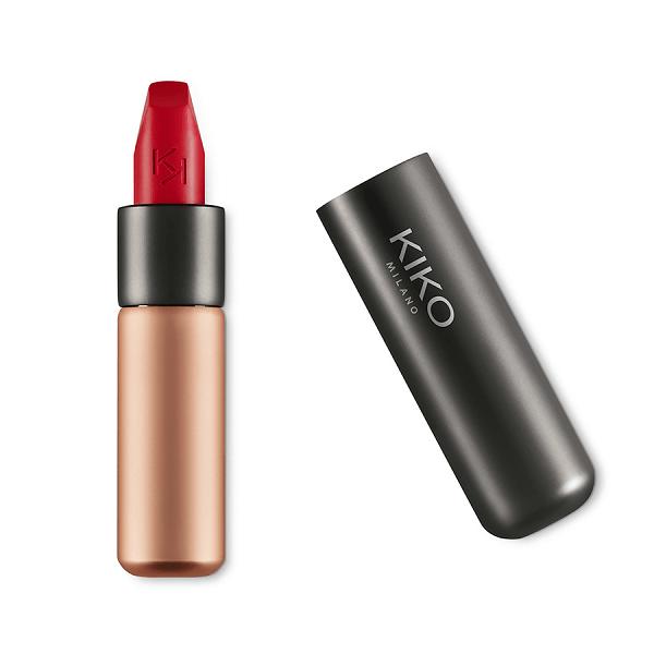 son kiko velvet passion matte lipstick 312 cherry 600x600 - Son Kiko Velvet Passion Matte Lipstick màu 312 Cherry ( Đỏ Cherry )