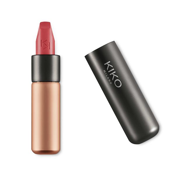 son kiko velvet passion matte lipstick 316 vintage rose 600x600 - Son Kiko Velvet Passion Matte Lipstick màu 316 Vintage Rose ( Hồng Đất )