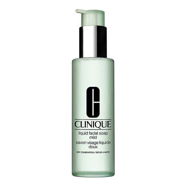 sua rua mat clinique liquid facial soap mild 200ml 600x600 - Sữa rửa mặt Clinique Liquid Facial Soap Mild 200ml