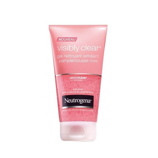 sua rua mat neutrogena visibly clear gel nettoyant pamplemousse rose 150ml 600x600 - Sữa rửa mặt Neutrogena Visibly Clear Gel Nettoyant Pamplemousse Rose 150ml