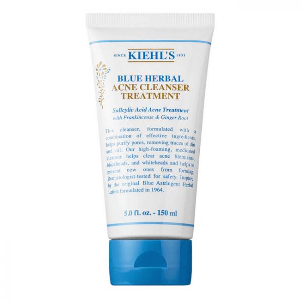sua rua mat tri mun kiehls blue herbal acne cleanser treatment 150ml 600x600 - Sữa rửa mặt trị mụn Kiehl's Blue Herbal Acne Cleanser Treatment 150ml