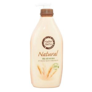 sua tam huong lua mach happy bath natural real mild 900ml 300x300 - Sữa tắm hương lúa mạch Happy Bath Natural Real Mild 900ml