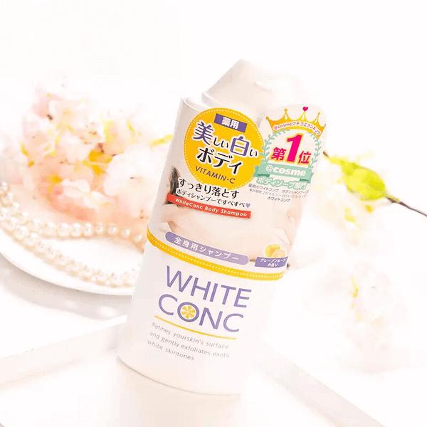 sua tam trang da white conc body vitamin c 360ml 2 600x600 - Sữa tắm trắng da White Conc Body Vitamin C 360ml