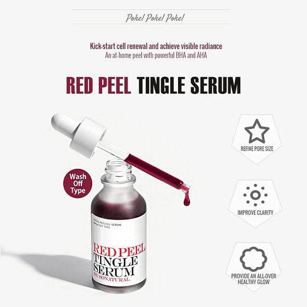 tinh chat tai tao da so natural red peel tingle serum 35ml 3 600x600 - Tinh chất tái tạo da So Natural Red Peel Tingle Serum 35ml