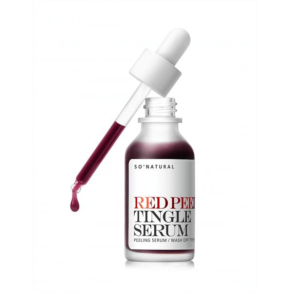 tinh chat tai tao da so natural red peel tingle serum 35ml 600x600 - Tinh chất tái tạo da So Natural Red Peel Tingle Serum 35ml