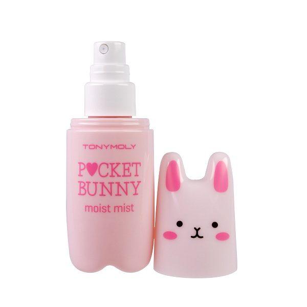 xit khoang cho da kho tonymoly pocket bunny moist mist 60ml 600x600 - Xịt khoáng cho da khô Tonymoly Pocket Bunny Moist Mist 60ml