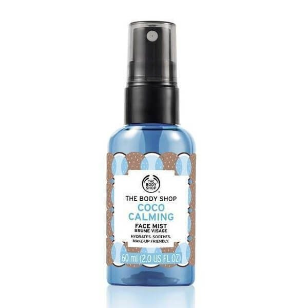 xit khoang the body shop coco calming face mist 60ml 600x600 - Xịt khoáng The Body Shop Coco Calming Face Mist 60ml