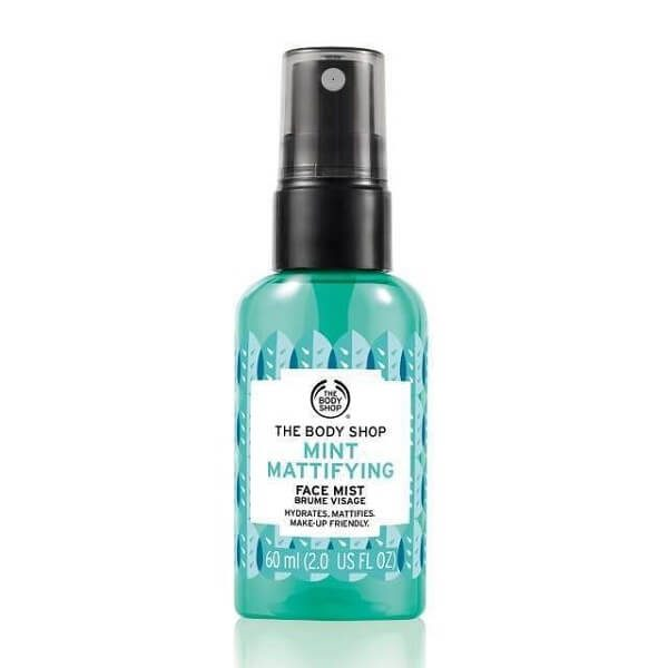 xit khoang the body shop mint mattifying face mist 60ml 600x600 - Xịt khoáng The Body Shop Mint Mattifying Face Mist 60ml