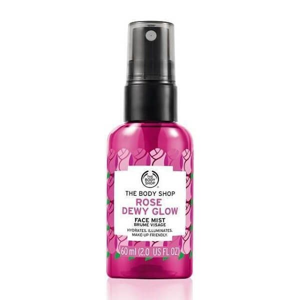 xit khoang the body shop rose dewy glow face mist 60ml 600x600 - Xịt khoáng The Body Shop Rose Dewy Glow Face Mist 60ml