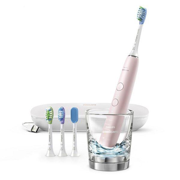 Bàn chải đánh răng điện Philips Sonicare DiamondClean Smart 9500 Pink