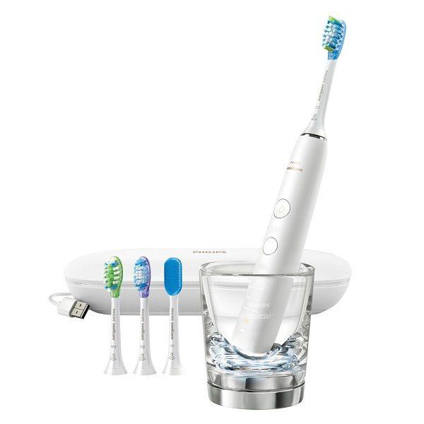 Bàn chải đánh răng điện Philips Sonicare DiamondClean Smart 9500 White