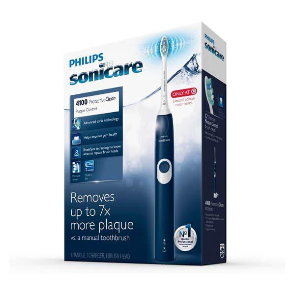 Bàn chải đánh răng điện Philips Sonicare ProtectiveClean 4100 Navy