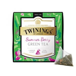 Trà xanh vị dâu Twinings Summer Berry Green Tea