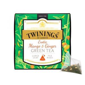 Trà xoài Twinings Mango Ginger Green Tea